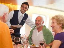 waiter on cruise ship